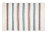 Alluring Rectangle Braided Wool Blend Rug, AL49 Sparrow Gray Stripes