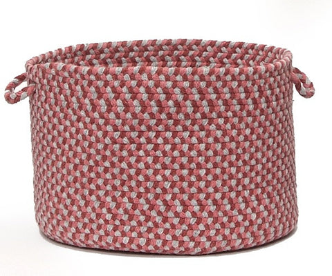 Boston Common Round Braided Basket, BC72 Brick Marketplace