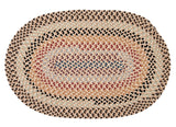 Boston Common Oval Braided Rug, BC82 Harbour Lites