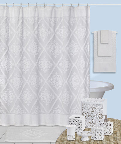 Elegant Stylized Fleur Bathroom Collection