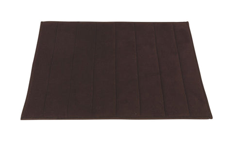 Brown Ultra Luxurious Memory Foam Bath Rug in 2 Sizes