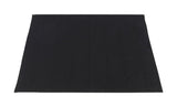 Black Ultra Luxurious Memory Foam Bath Rug in 2 Sizes