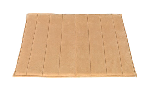 Linen Ultra Luxurious Memory Foam Bath Rug in 2 Sizes