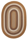 Brooklyn Indoor Outdoor Oval Braided Rug, BN99 Amber Way