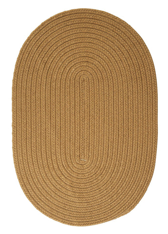 Boca Raton Indoor Outdoor Oval Braided Rug, BR32 Topaz