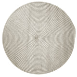 Boca Raton Indoor Outdoor Round Braided Rug, BR43 Shadow
