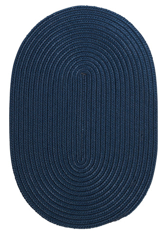 Boca Raton Indoor Outdoor Oval Braided Rug, BR53 Jasmine