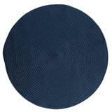 Boca Raton Indoor Outdoor Round Braided Rug, BR53 Jasmine