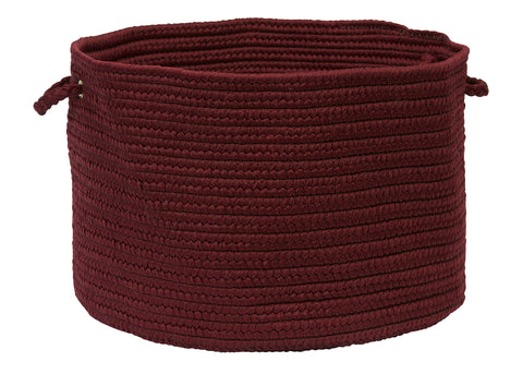Boca Raton Indoor Outdoor Round Braided Basket, BR75 Corona