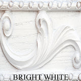 Acanthus with Floral Center Faux Carving Wall Decor in 60 Colors