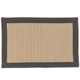 Bayswater Indoor Outdoor Braided Rectangle Rug, BY43 Gray