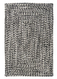 Catalina Indoor Outdoor Rectangle Braided Rug, CA29 Blacktop