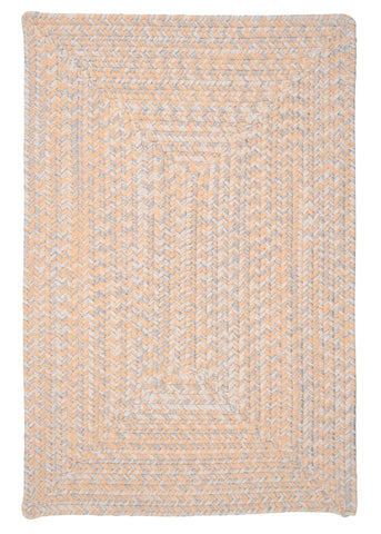 Catalina Indoor Outdoor Rectangle Braided Rug, CA39 Sun-Soaked