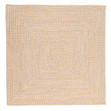 Catalina Indoor Outdoor Square Braided Rug, CA39 Sun-Soaked