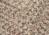 Corsica Indoor Outdoor Rectangle Braided Rug, CC89 Storm Gray