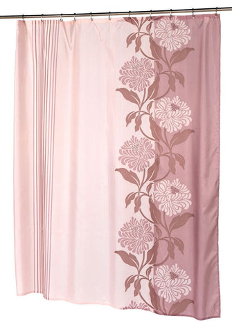 "Cool Modern Mums Fabric Shower Curtain 70""x96"""