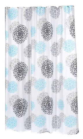 Arty Blooms Extra Long 70x84 Fabric Shower Curtain TntCommodities