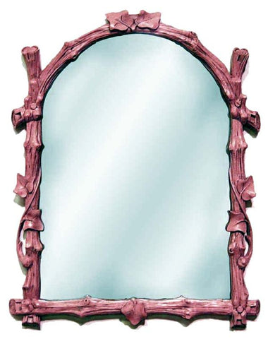 Twig Style Wall Mirror Antique Reproduction in 60 Colors