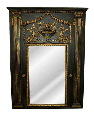 Fontaine Trumeau Wall Mirror Antique Reproduction in 60 Colors