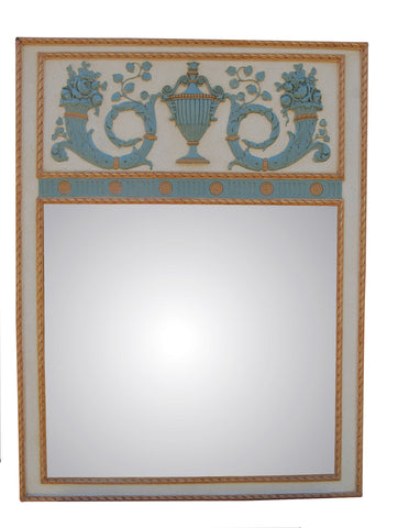 Antoinette Wall Mirror Antique Reproduction in 60 Colors