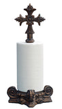 Cross Top Standing Paper Towel Holder in 60 Colors