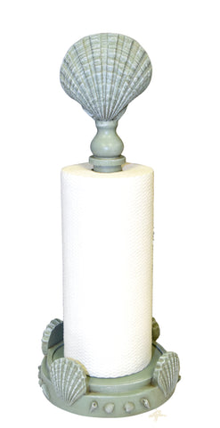 Clam Shell Top Standing Paper Towel Holder in 60 Colors