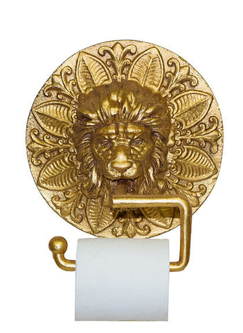 Lion Medallion Wall Toilet Paper Holder in 60 Colors