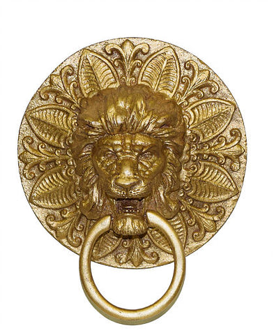 Regal Lion Medallion Wall Towel Holder in 60 Colors