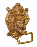 Regal Lion Medallion Wall Toilet Paper Holder in 60 Colors