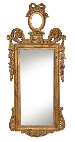 Over The Top French Wall Mirror Antique Reproduction in 60 Colors