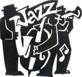 Jazz Band Metal Wall Art