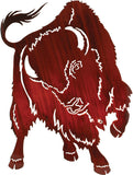 Buffalo Challenge Metal Wall Art