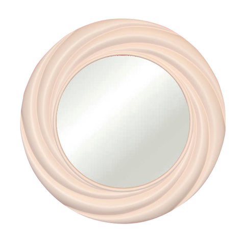 Modern Vogue Round Wall Mirror in 60 Colors
