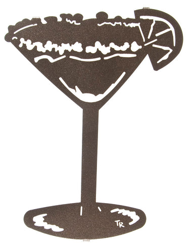 Margarita Time Metal Wall Art