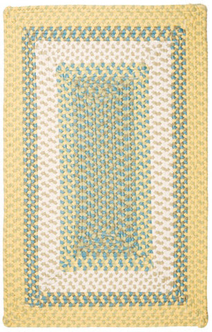 Montego Indoor Outdoor Rectangle Braided Rug, MG39 Sundance