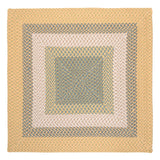 Montego Indoor Outdoor Square Braided Rug, MG39 Sundance