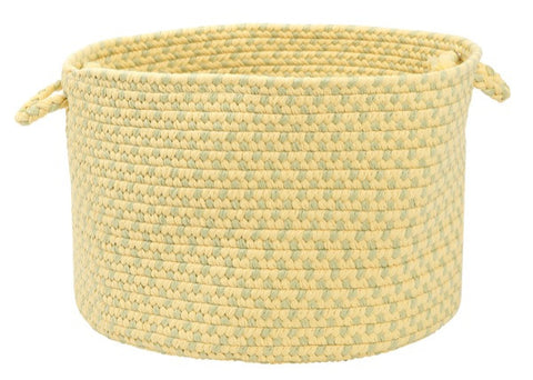 Montego Indoor Outdoor Round Braided Basket, MG39 Sundance