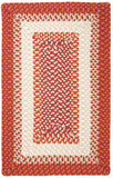 Montego Indoor Outdoor Rectangle Braided Rug, MG79 Bonfire