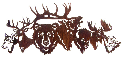 National Park Crew Metal Wall Art