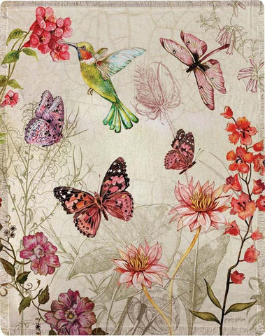 "Natural Curiosities by Gregory Gorham Polyester Throw 50""x60"""