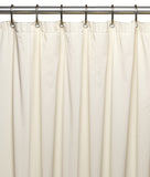 Bone 5-Gauge Vinyl Shower Curtain Liner in 3 Sizes