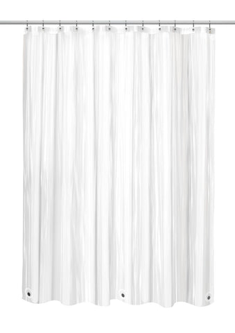 Super Clear Standard Size 10 Gauge PEVA Shower Curtain Liner With Meta TntCommodities