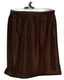 Brown Raised Diamond Design Fabric Sink Drape