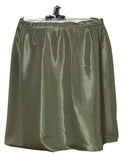Sage Green Raised Diamond Design Fabric Sink Drape