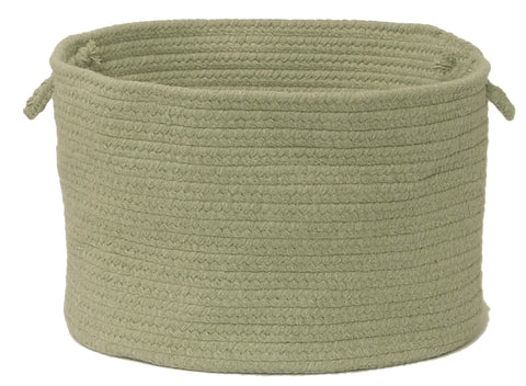 Bristol Round Braided Basket, WL10 Palm