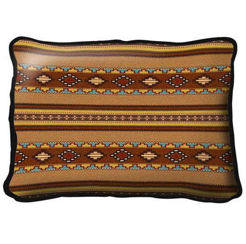 Saddleblanket Clay Pillow