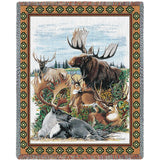 Antlered Animals Blanket