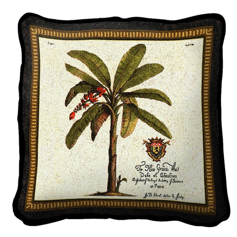 Royal Palm Duke (D) Pillow