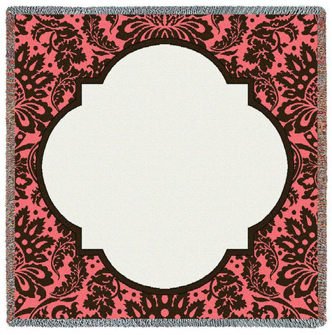 Damask Baby Cotton Candy Small Blanket