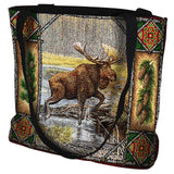 Moose Lodge Tote Bag